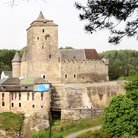 Picture - The 14th Century Kost Hrad seen in summer.