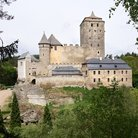 Picture - The hill top medieval castle of Kost Hrad.