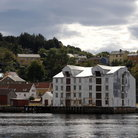 Picture - An old fish factory in Kristiansund.