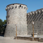 Picture - Tower and wall at Krk.