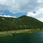 Picture - River Krka in Krka National Park.