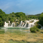 Picture - Krka waterfalls in Krka National Park.