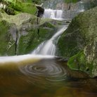 Picture - A series of waterfalls and pools in Krkonose National Park.