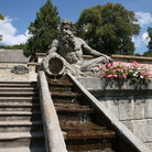 Picture - Stairs and water at the baroque spa of Kuk.