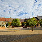 Picture - The old town square in Kutna Hora.