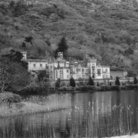 Picture - Kylemore Abbey seen from across the river.