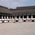 Picture - Courtyard of the Kyoto Imperial Palace.