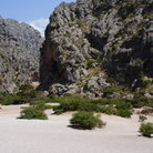 Picture - The canyon of Calobra on the island of Mallorca.