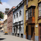 Picture - Typical architecture of La Laguna.