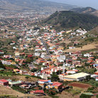 Picture - View over the town of La Laguna among the surrounding hills.