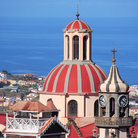Picture - View over the domes and rooftops of La Orotava.