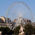 Picture - La Roue de Paris ferris wheel on Place de la Concorde.