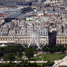 Picture - Tuileries Garden & La Roue de Paris.