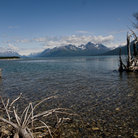 Picture - Calm day on Lake Clark.
