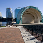 Picture - The amphitheatre at Lake Eola Park in Orlando.