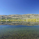 Picture - A very calm Lake Hawea.
