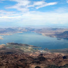 Picture - Aerial view of Lake Mead.