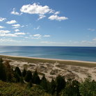 Picture - Elberta Beach on Lake Michigan.