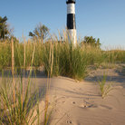 Picture - Big Sable Point Lighthouse, Lake Michigan.