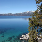 Picture - View over Lake Tahoe.