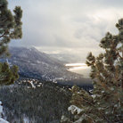 Picture - Lake Tahoe in winter.