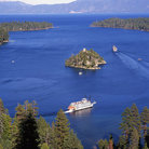 Picture - Tour boats on Lake Tahoe.