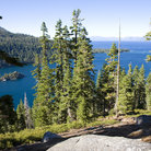 Picture - Landscape of Emerald Bay, Lake Tahoe.