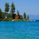 Picture - Cabin on Lake Tahoe, Nevada.
