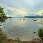 Picture - Calm day at Lake Windermere in the Lake District.