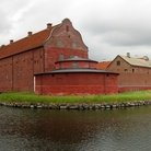 Picture - Panoramic view of Landskrona Citadel.