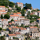 Picture - A hillside village on the island of Lastovo.