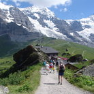 Picture - Lauterbrunnen, a popular summer resort.