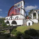Picture - The Laxey Water Wheel.