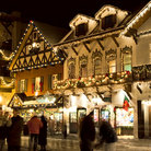 Picture - Christmas decorations in Leavenworth.