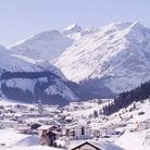 Picture - Lech am Arlberg in winter.