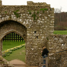 Picture - Archway at Leeds Castle near Maidstone.