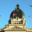Picture - Dome of the Legislature in Regina.