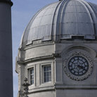 Picture - The dome of Leinster House in Dublin.