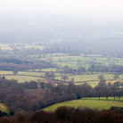 Picture - View from the tower on Leith Hill.