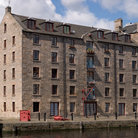 Picture - A converted warehouse on the waterfront at Leith.