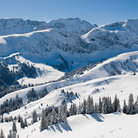 Picture - Mountain panorama near Lenk.