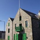 Picture - Old architecture of Lerwick.