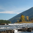 Picture - Kootenai River in Libby, Montana.