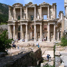 Picture - Library of Celsus at Ephesus.