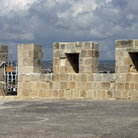Picture - Wall of the Kolossi Castle in Limassol.