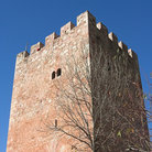 Picture - Exterior of a medieval tower in Linares.