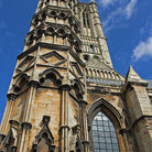 Picture - Tower of Lincoln Cathedral.