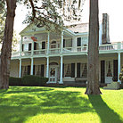 Picture - Linden House (c1800) with veranda on National Register in Natchez.