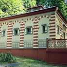 Picture - The Moorish Kiosk in Linderhof Schloss.