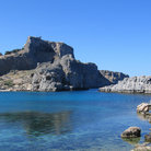 Picture - Acropolis at Lindos.